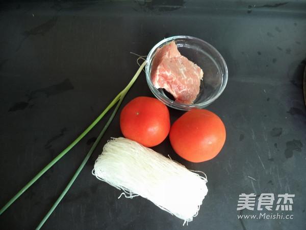 瘦肉番茄粉丝汤的做法大全