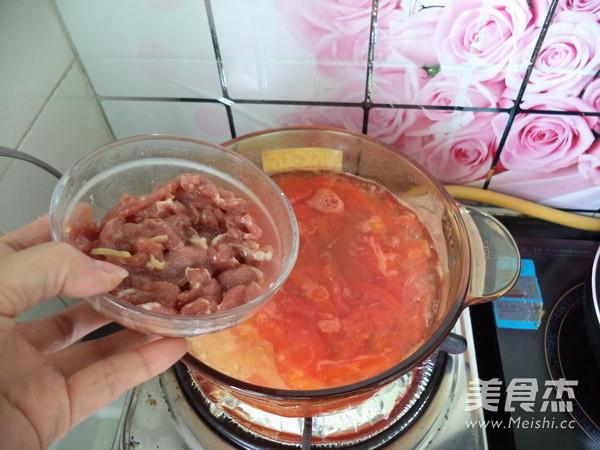 瘦肉番茄粉丝汤怎么煸