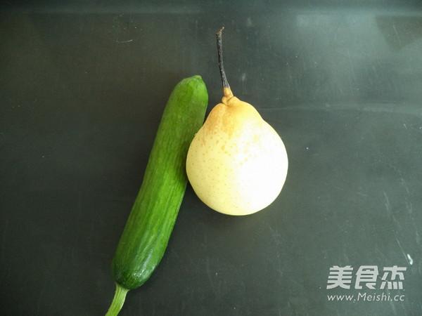 黄瓜梨子汁的做法大全