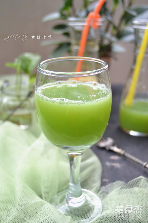 黄瓜梨子汁成品图