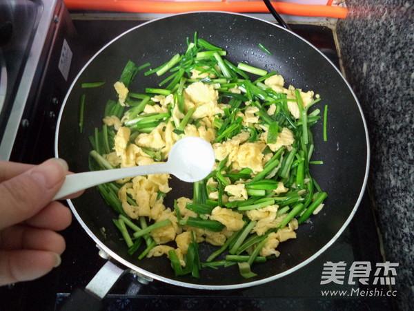 蒜苗炒鸡蛋怎么煮