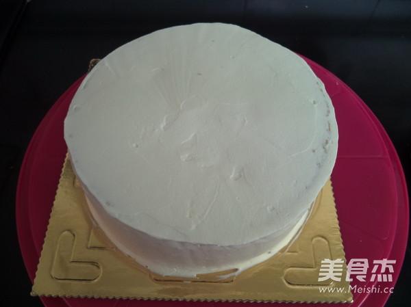 三色奶油蛋糕的制作大全
