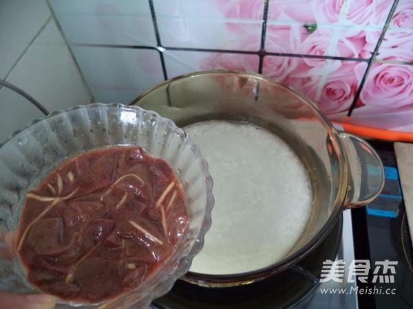 猪肝粥怎么做