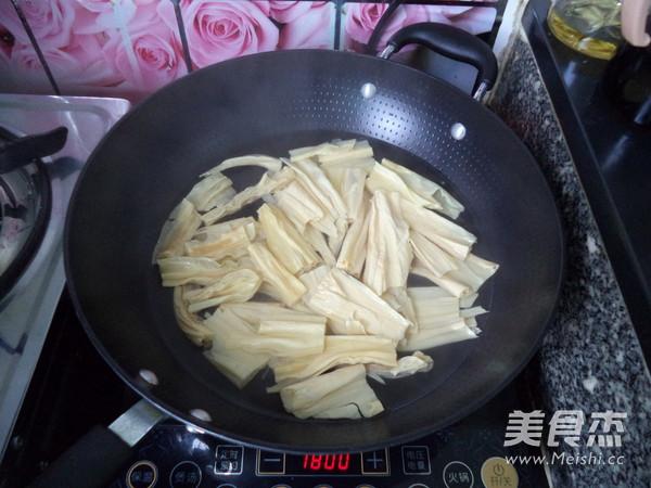 白灼腐竹怎么吃