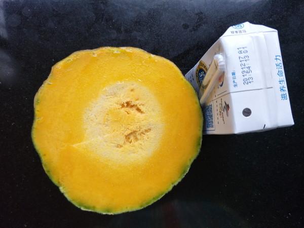奶香南瓜羹的步骤