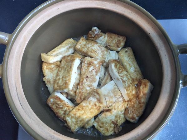 豆腐焖鱼头的步骤