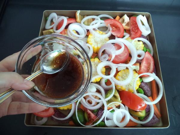烤杂锦蔬菜的步骤
