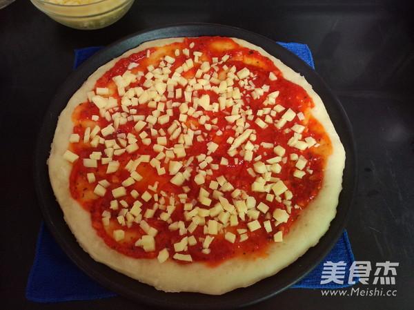 培根鲜虾披萨怎样煮