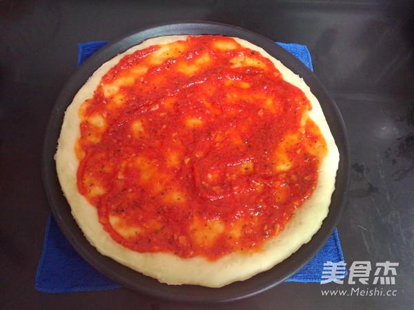 培根鲜虾披萨怎样炒