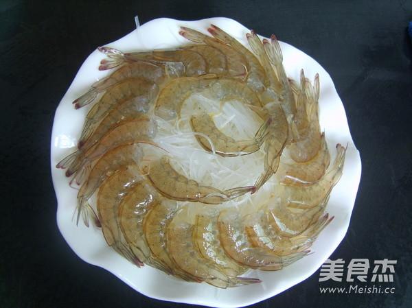 蒜蓉粉丝蒸虾的做法图解