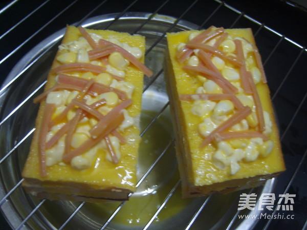 玉米三明治的简单做法