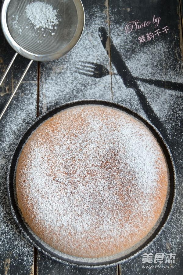 电饭锅蛋糕成品图