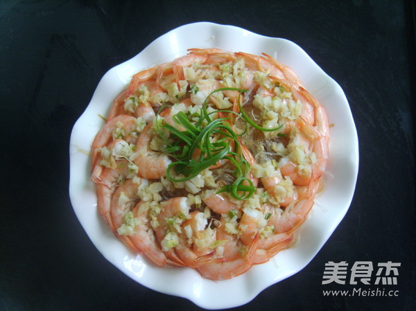 蒜蓉粉丝蒸虾怎么做