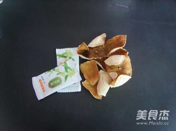 蜂蜜陈皮茶的步骤