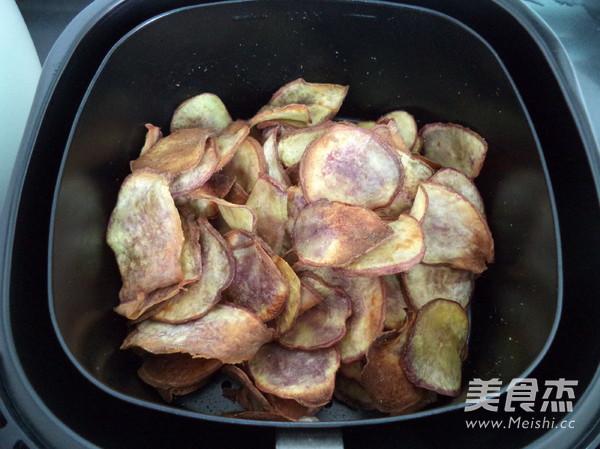 炸红薯片怎样煮
