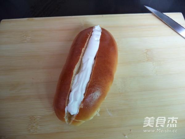 奶油椰丝包的制作方法