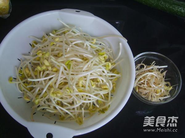 黄瓜拌豆芽的做法图解