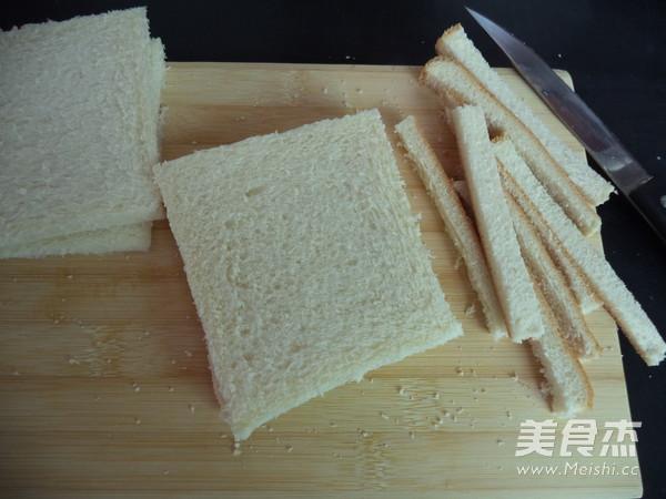 香蕉花生酱三明治的家常做法