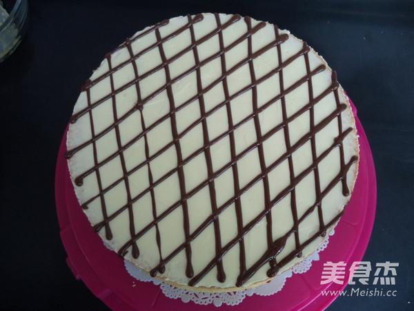 法式奶油霜蛋糕的制作方法