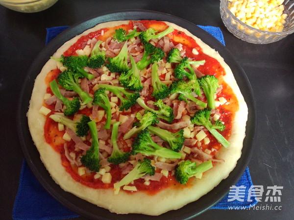 培根鲜虾披萨怎样炖
