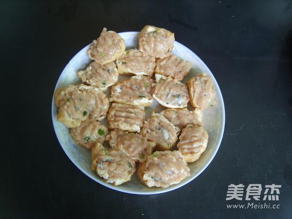 煎酿豆腐怎么做