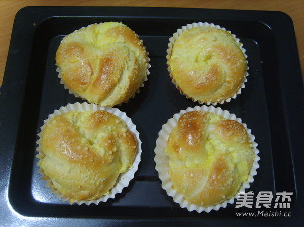 香酥椰卷面包的做法大全