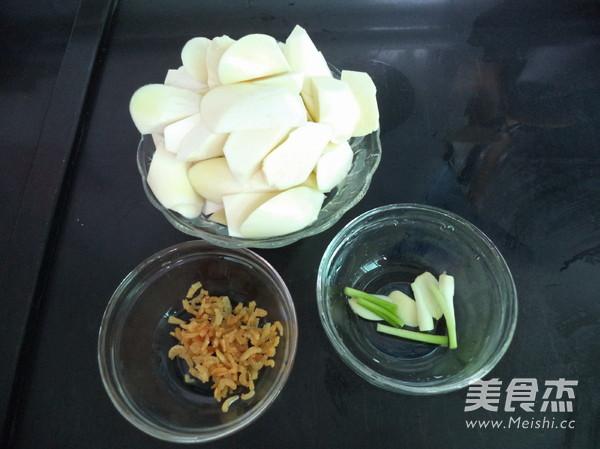 虾米焖茭白的做法图解