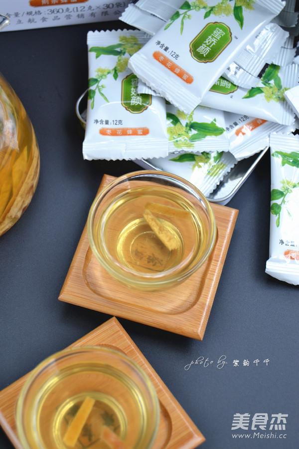 蜂蜜陈皮茶成品图