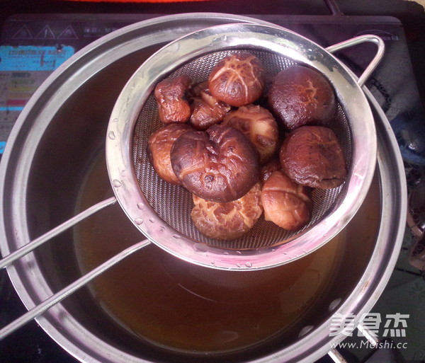 香菇油菜馅的家常做法