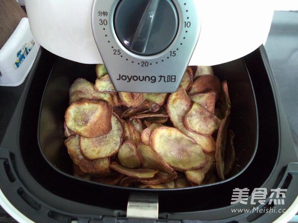 炸红薯片怎样炒