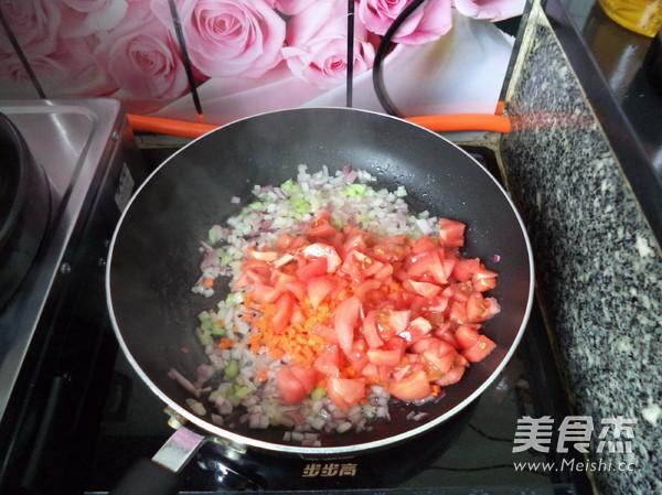 肉酱焗饭怎么吃