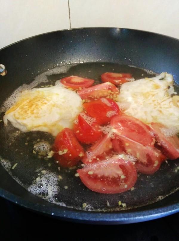 番茄鸡蛋米粉怎样做