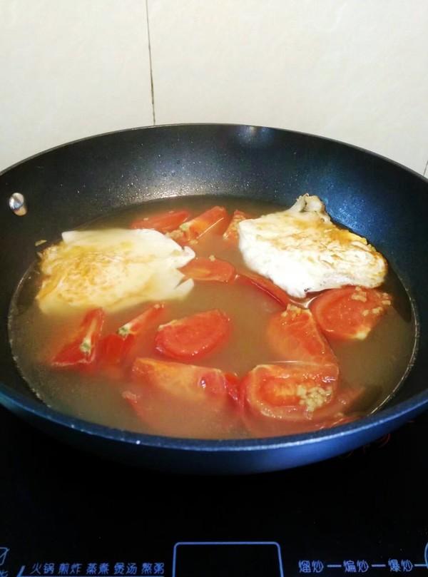 番茄鸡蛋米粉怎样炒