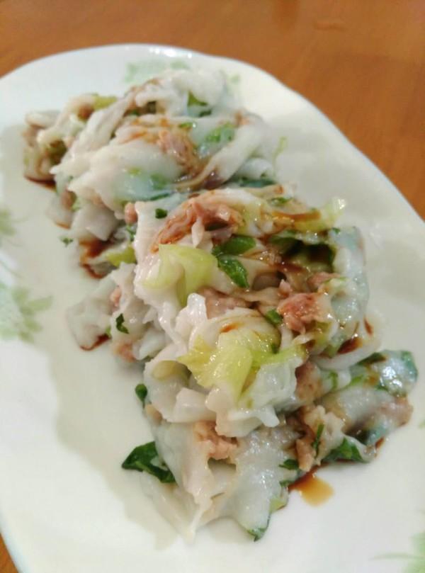 广东肠粉成品图