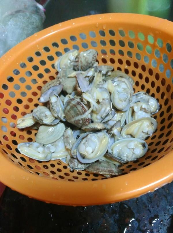 炒花蛤怎么吃
