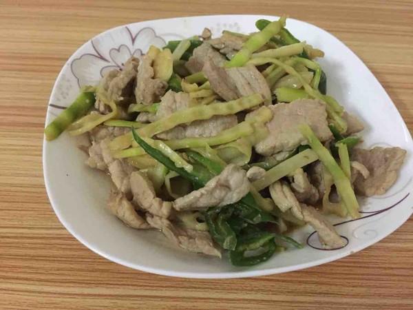 新鲜小竹笋炒肉怎么煮