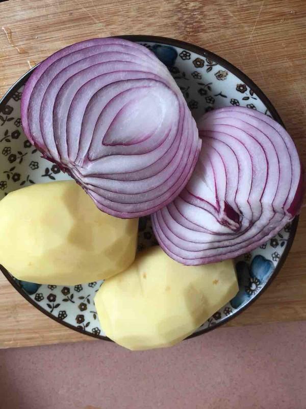 土豆洋葱焖鸡的做法图解