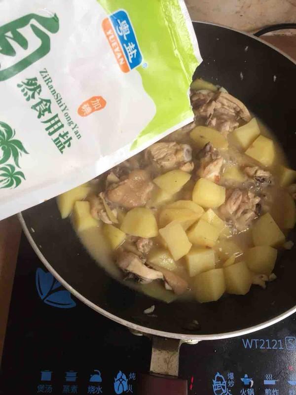 土豆洋葱焖鸡怎样炒