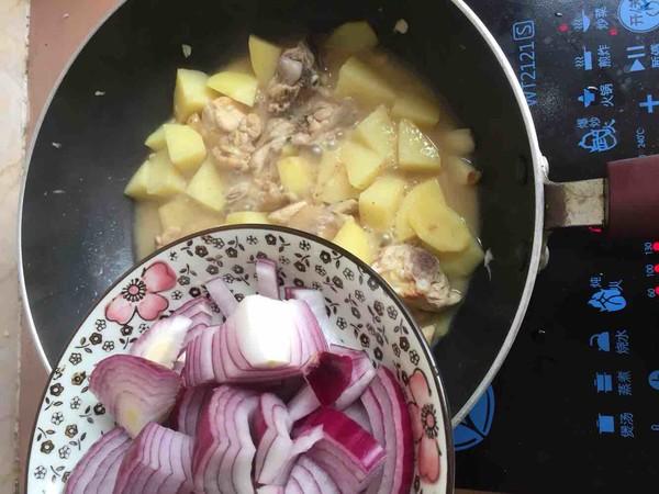 土豆洋葱焖鸡怎样煮