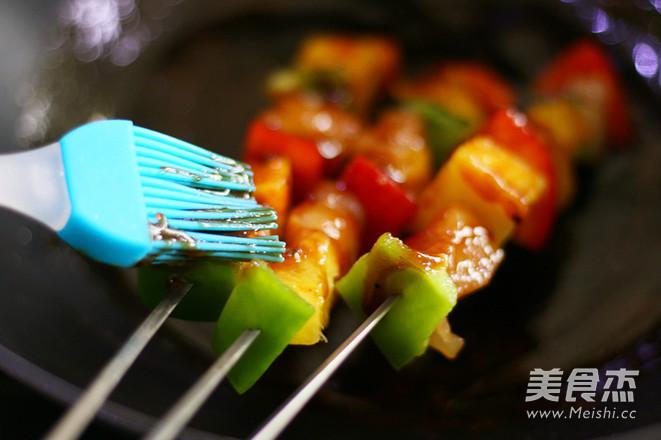 夏威夷风情鸡肉串怎么炒