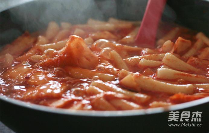 韩式炒年糕怎么炖