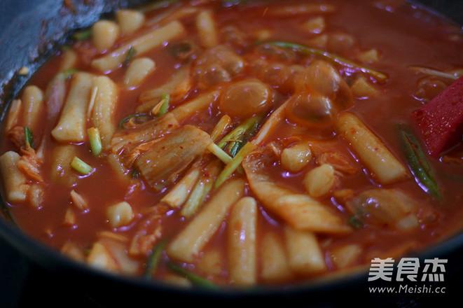 韩式炒年糕怎样煸