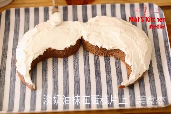 父亲节福利  胡子蛋糕的做法大全
