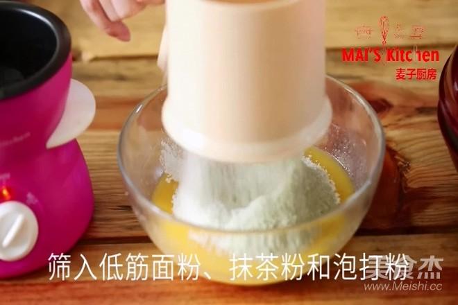 清新快手   抹茶蜜豆夹心蛋糕怎么吃