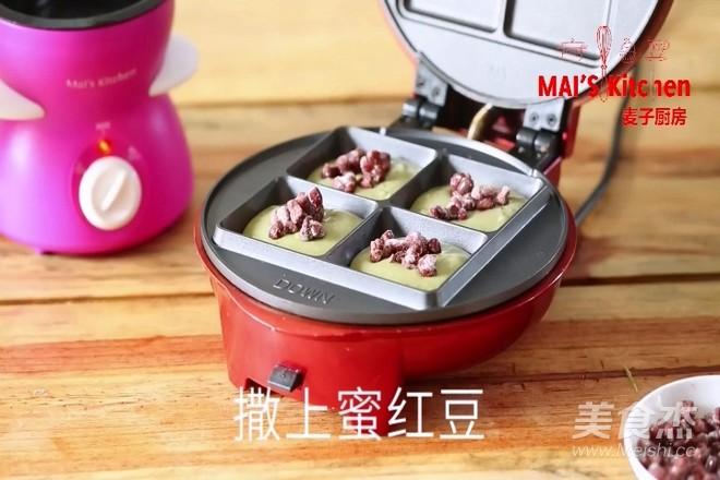 清新快手   抹茶蜜豆夹心蛋糕怎样煸