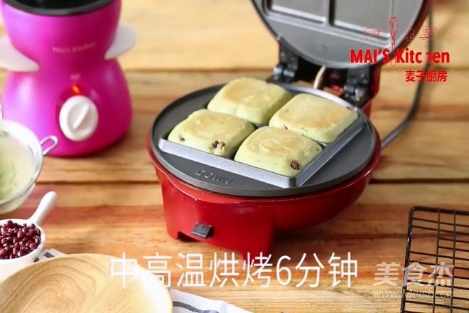 清新快手   抹茶蜜豆夹心蛋糕怎样炒