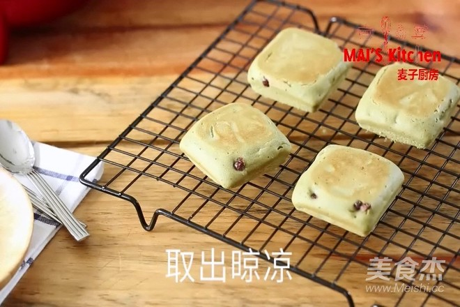 清新快手   抹茶蜜豆夹心蛋糕怎样煮