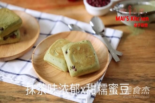 清新快手   抹茶蜜豆夹心蛋糕怎样炖
