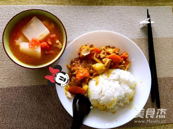 塔吉锅之咖喱鸡饭怎么炒
