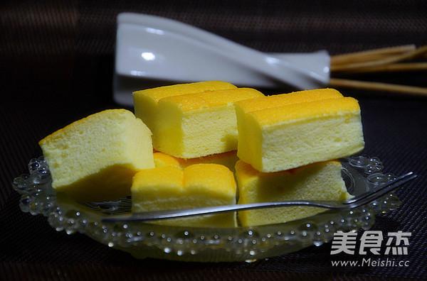 酸奶蛋糕成品图